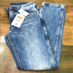 Levi's 505 Orange Tab Slim Straight Jean